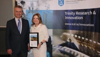 2. Provost's Award - Sabina Brennan