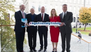 Brian McCrea, Jo Veselsky, Minister Jim Daly, Sabina Brennan and Patrick Prendergast