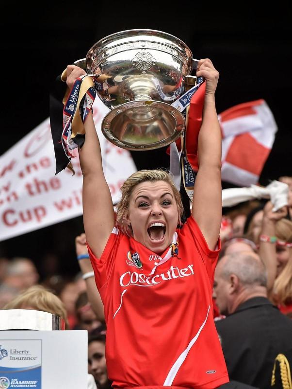Anna Geary All Ireland Champion
