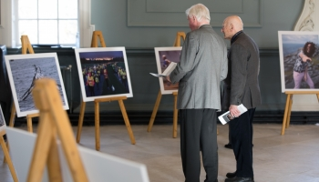 Energy at Any Age photo exhibition Regent House TCD 9.4.18