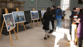 Energy at Any Age photo exhibition Regent House TCD 9.4.18 Pic Paul Sharp/SHARPPIX