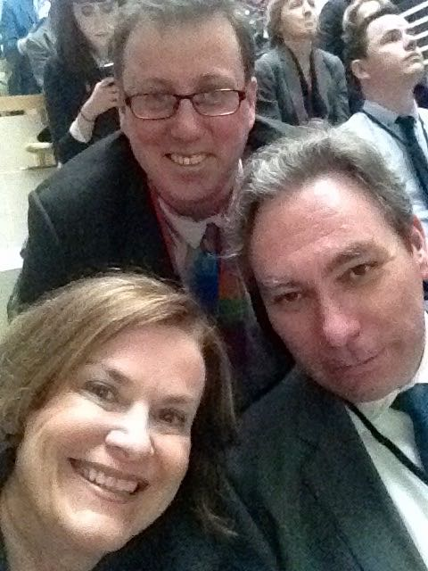 Marriage Equality Selfie with ICCL Stalwarts Mark Kelly & Stephen O'Hare