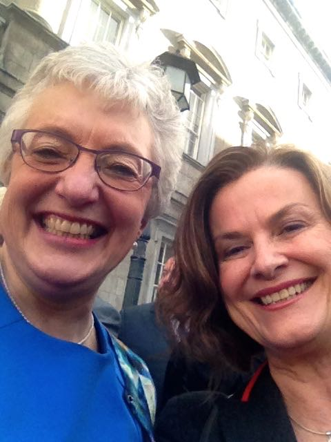 Marrigaae Equality Selfie with Senator Katherine Zappone