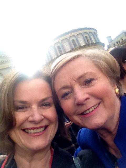 Marriage Equality Selfie with Francis Fitzgerald (Minister for Justice and Equality