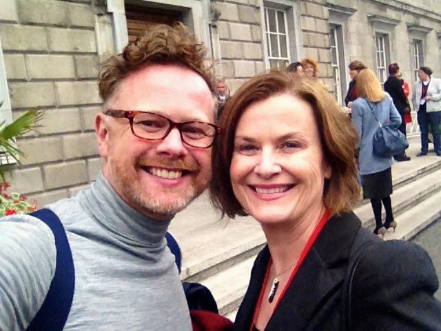 Marriage Equality Selfie with Yes Equality Director of Communicatios Andrew Highland