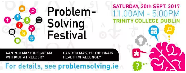 problem Solving Festival poster